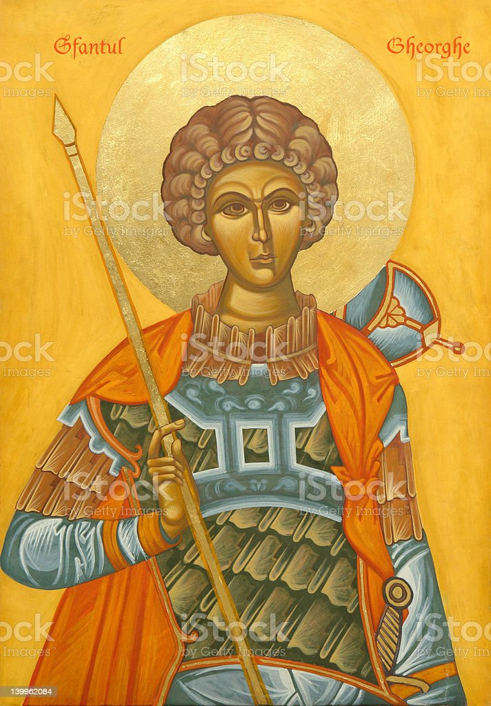 Sfintul Gheorghe royalty-free stock photo