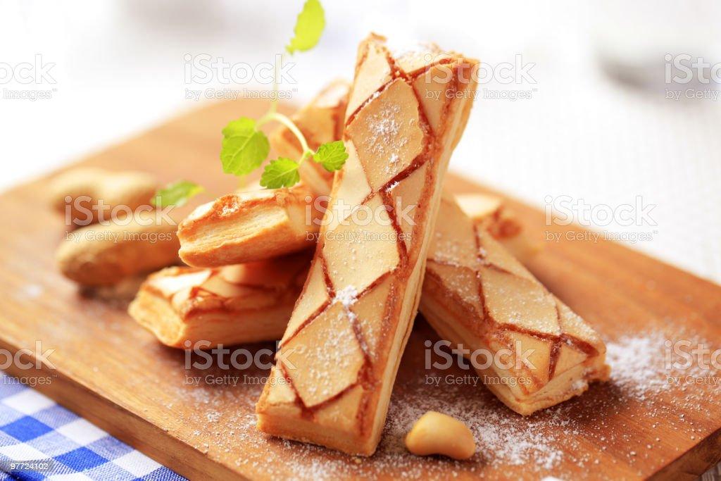 Sfogliatine puff pastries royalty-free stock photo