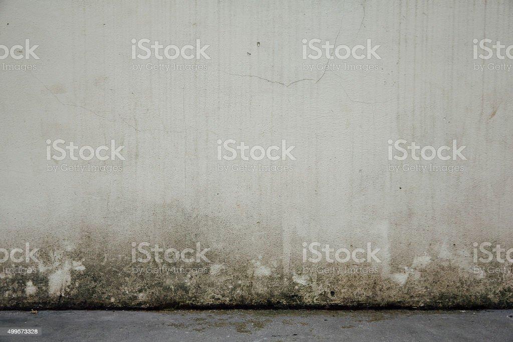 Sfondo muro muffa e marciapiede stock photo