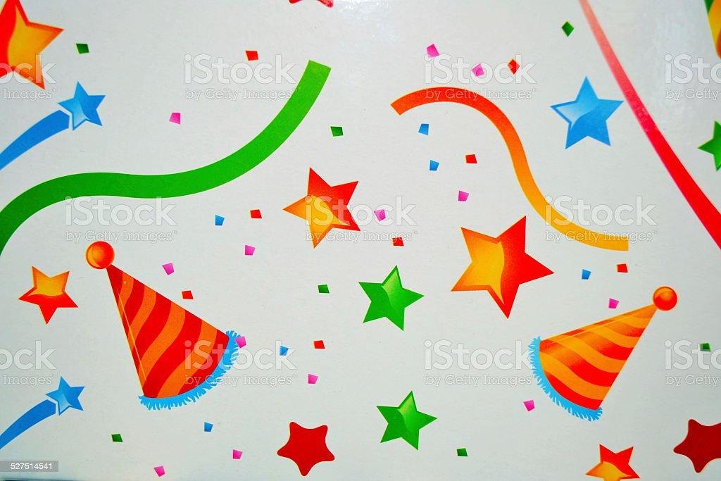 Sfondo per party stock photo