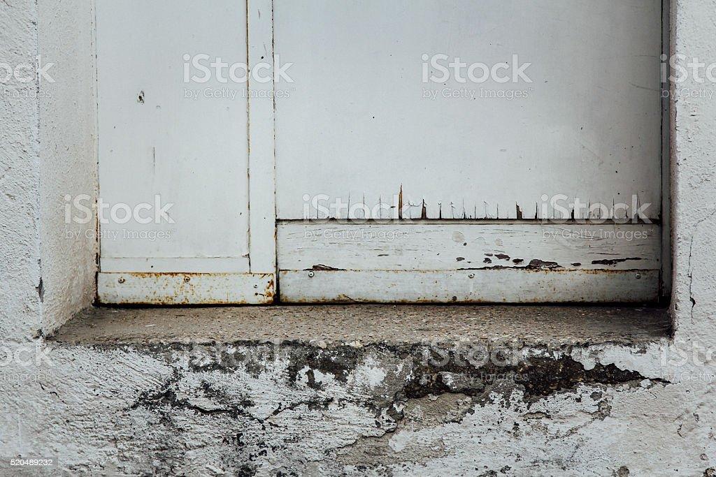 Sfondo porta e scalino stock photo