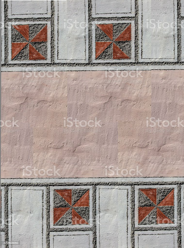 sgraffito stock photo