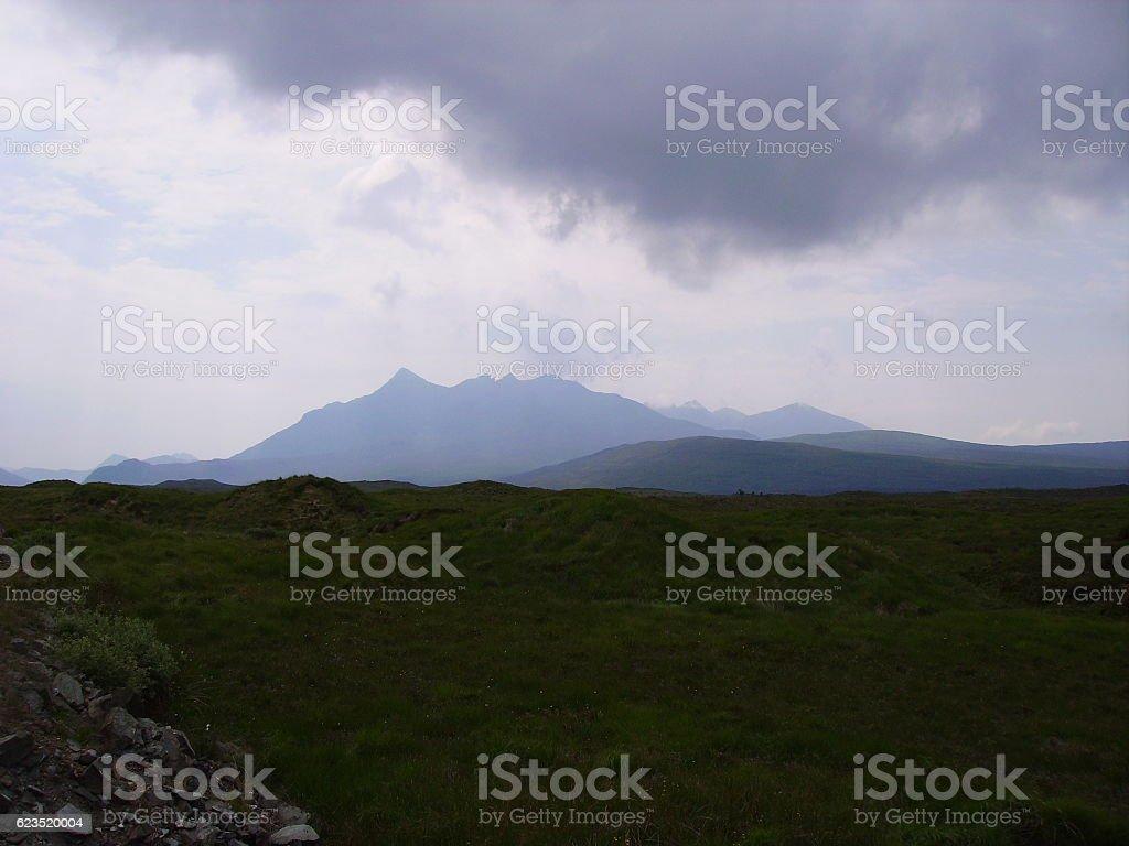 Sgurr Nan Gillean 2 stock photo