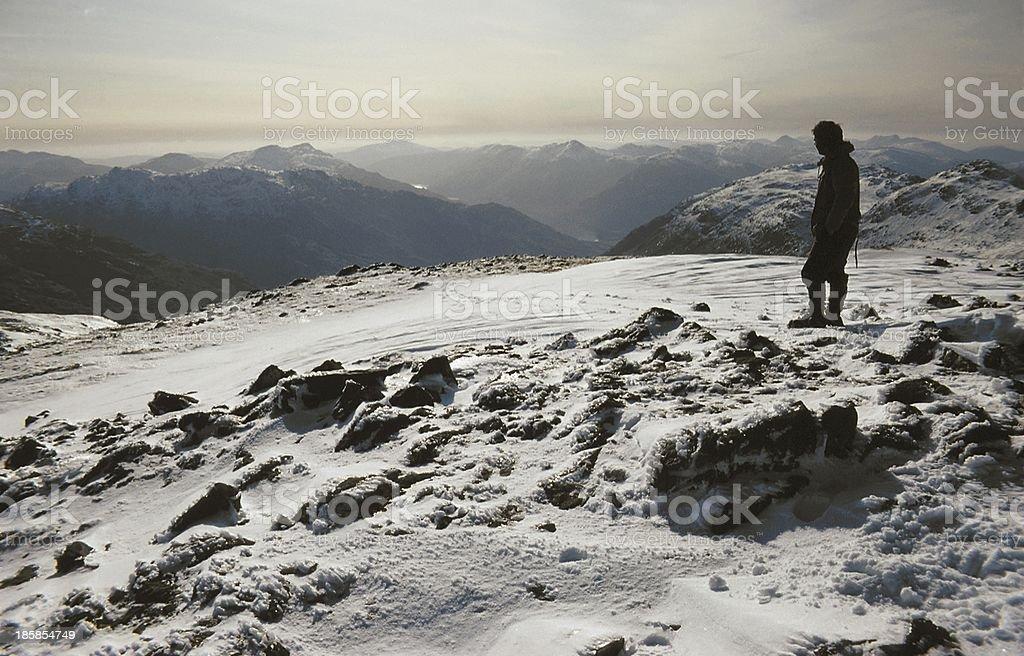 Sgurr Thuilm, Glenfinnan Scotland stock photo