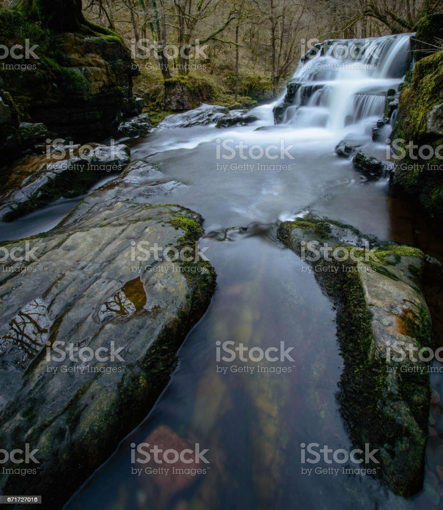 Sgwd y Pannwr Waterfall stock photo