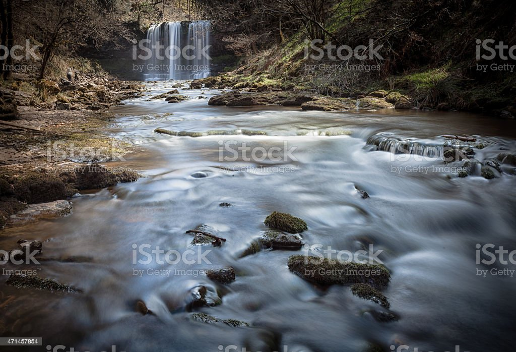 Sgwd yr Eira stock photo