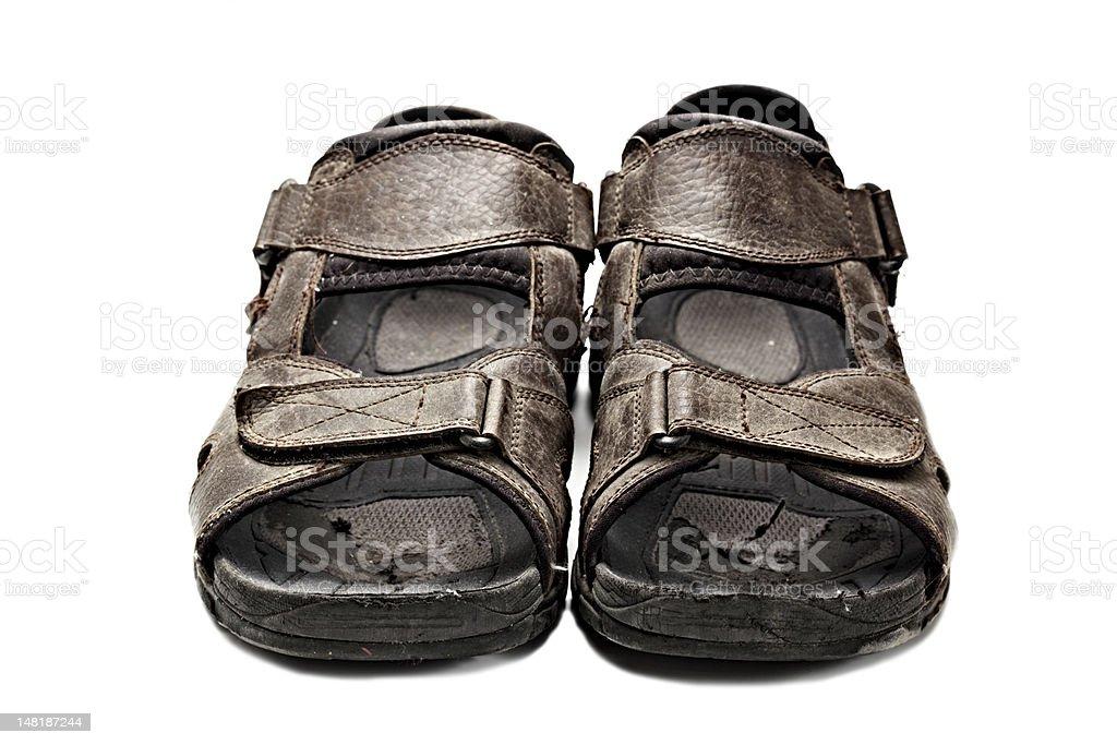 Verblichenes Schuh Lizenzfreies stock-foto