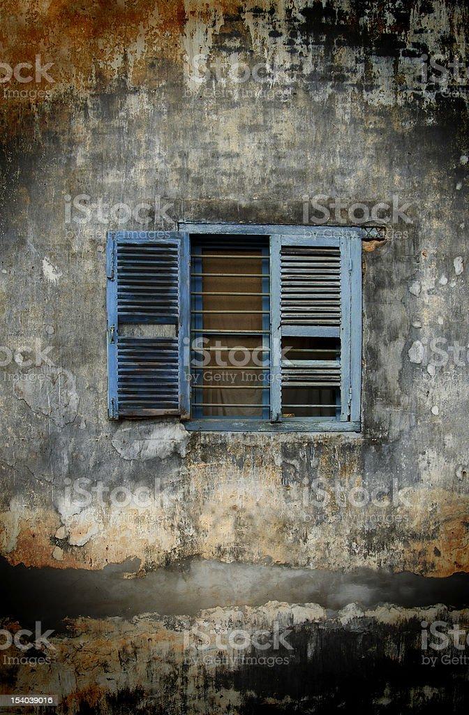 Shabby Window royalty-free stock photo