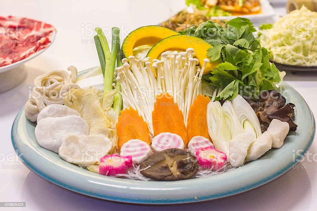 shabu stock photo