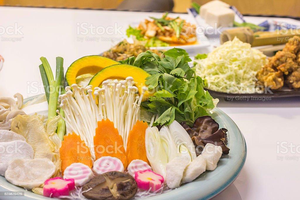 shabu stock photo