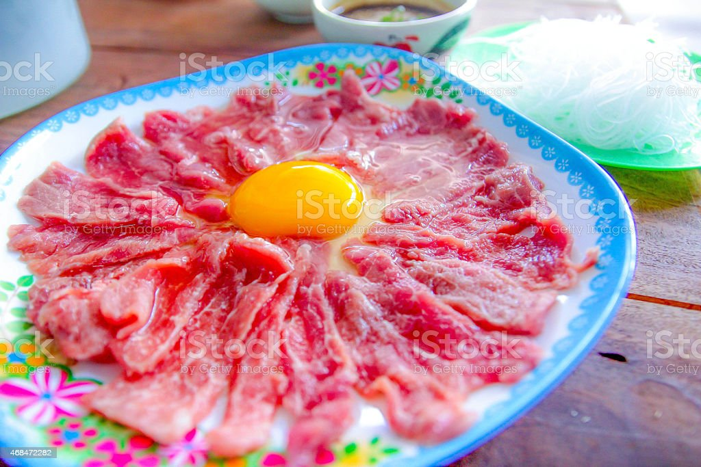 Shabu shabu,Asian cuisine stock photo