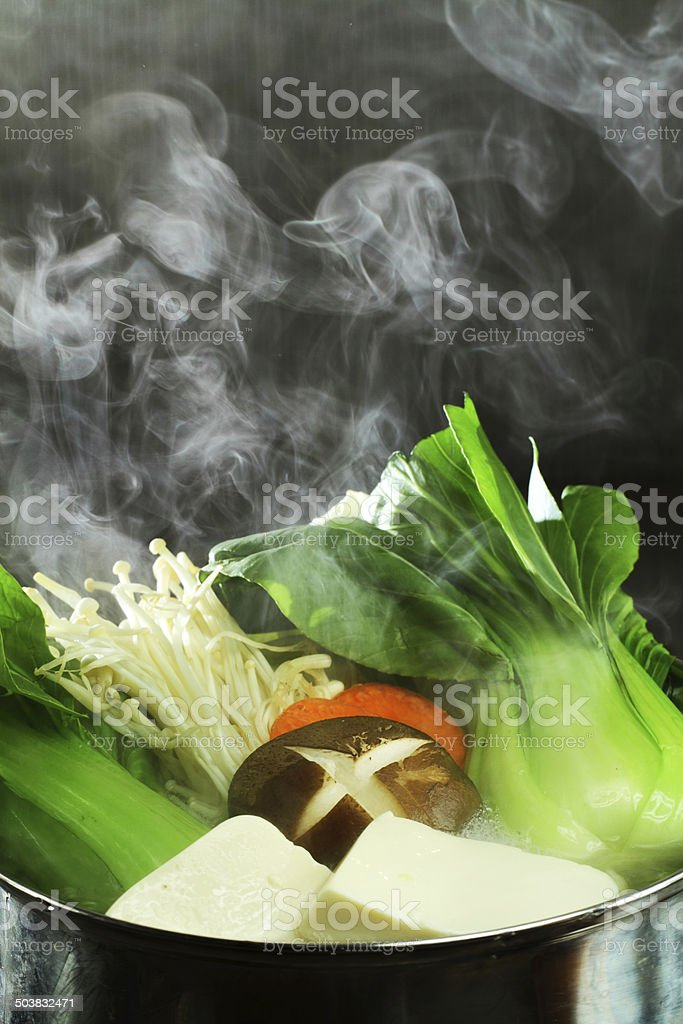 shabushabu stock photo