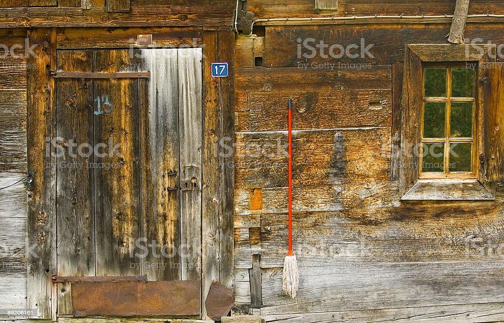 掘建て小屋 ロイヤリティフリーストックフォト