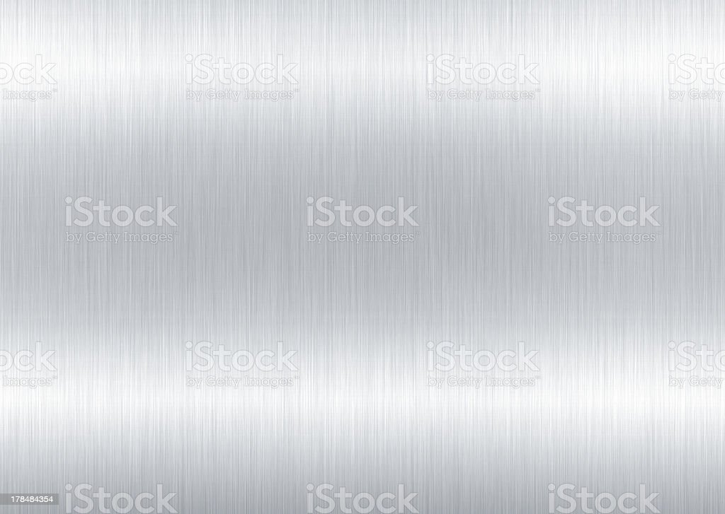 Shaded grey and white metal background stock photo
