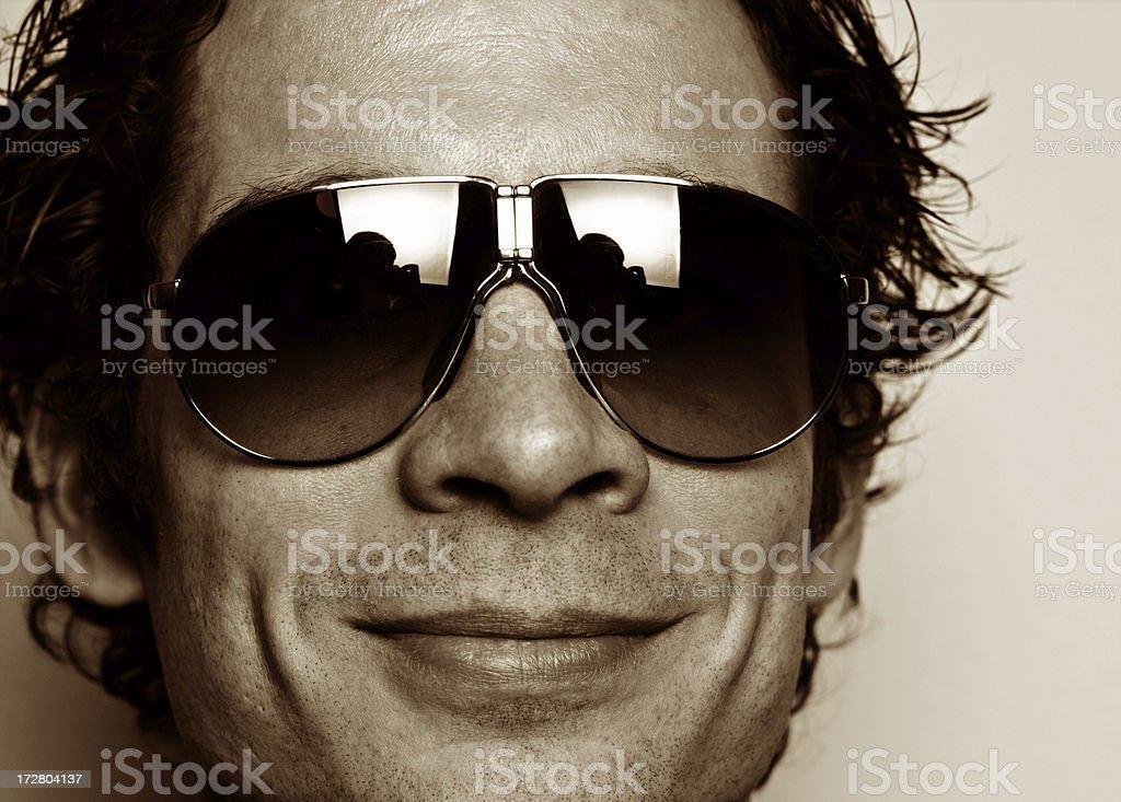 shades and man royalty-free stock photo