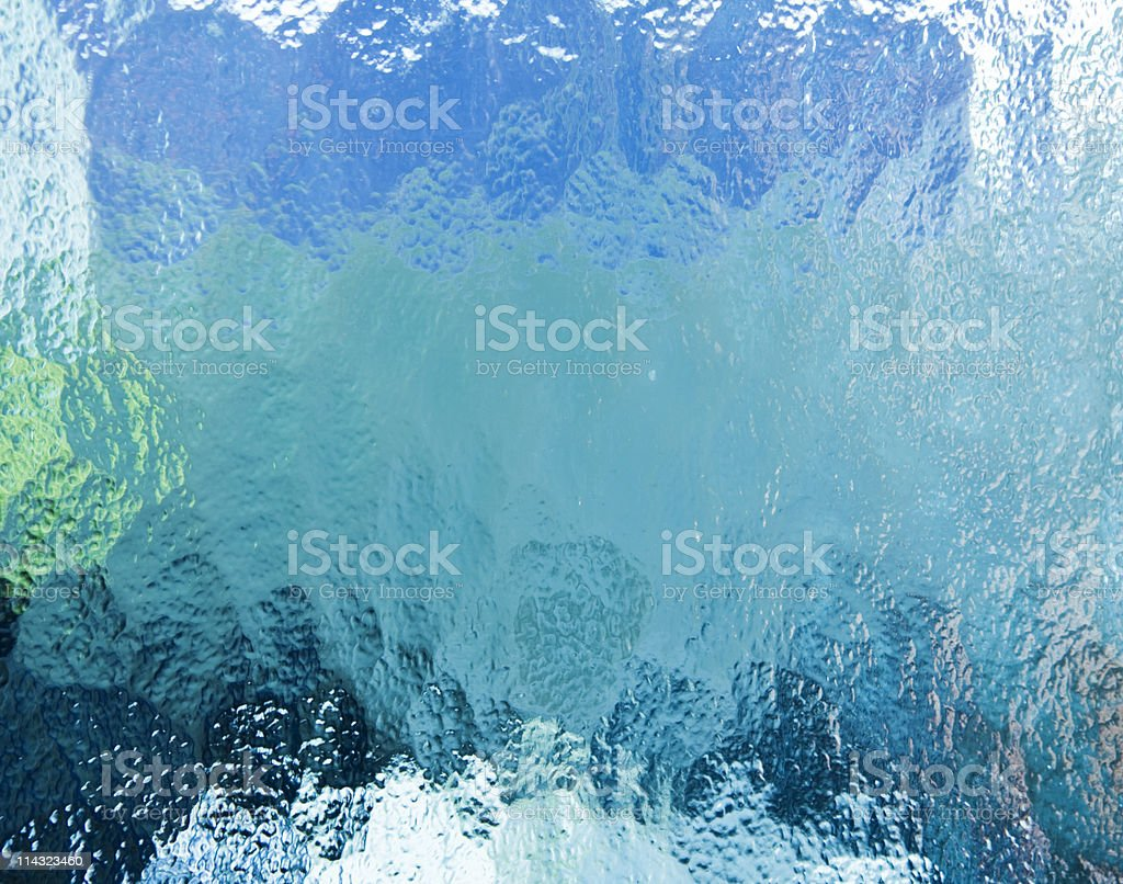 Shades of blue stock photo