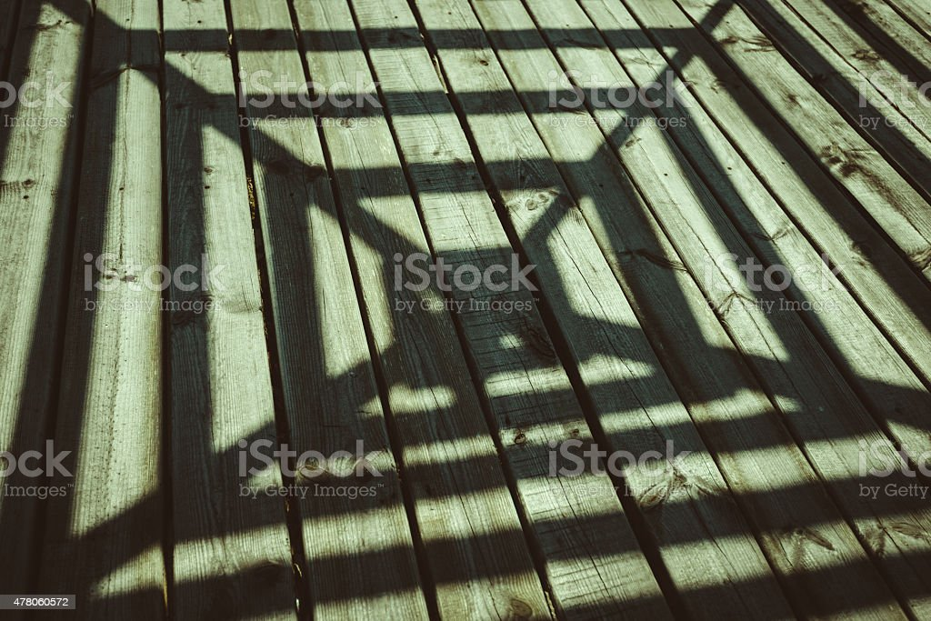 shadow, architecture, wood texture stock photo