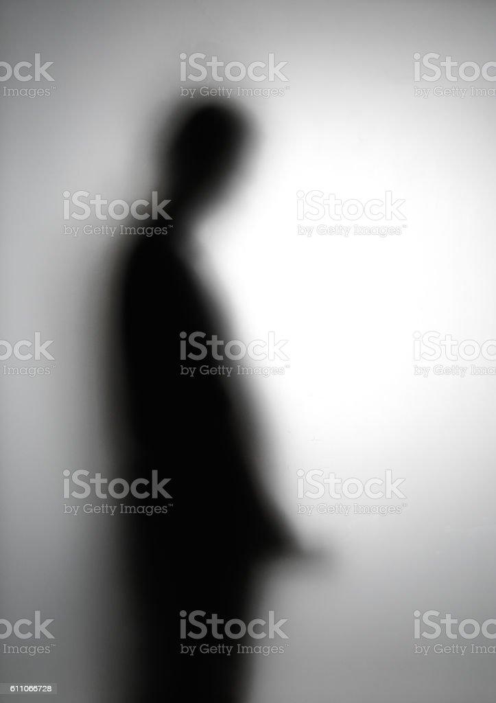 Shadow blur stock photo