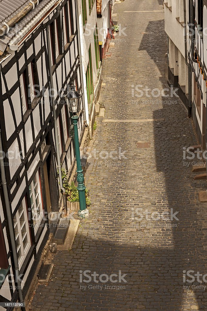 Shadow in the Street royalty-free stock photo