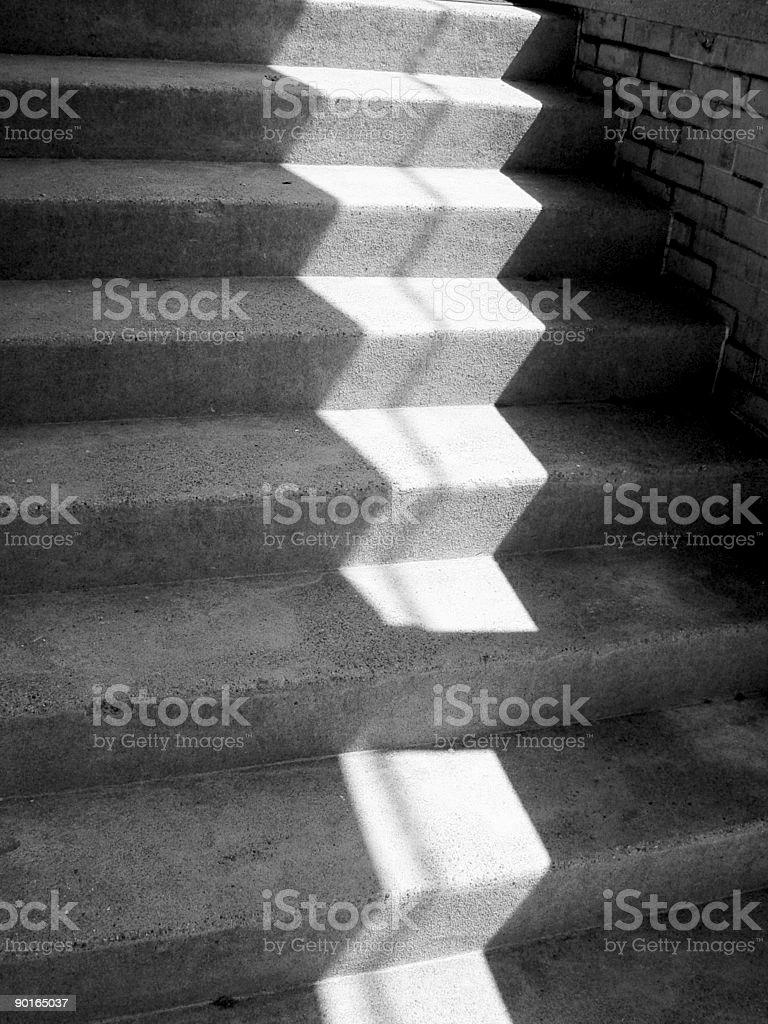 Shadow. Light. Concrete stock photo