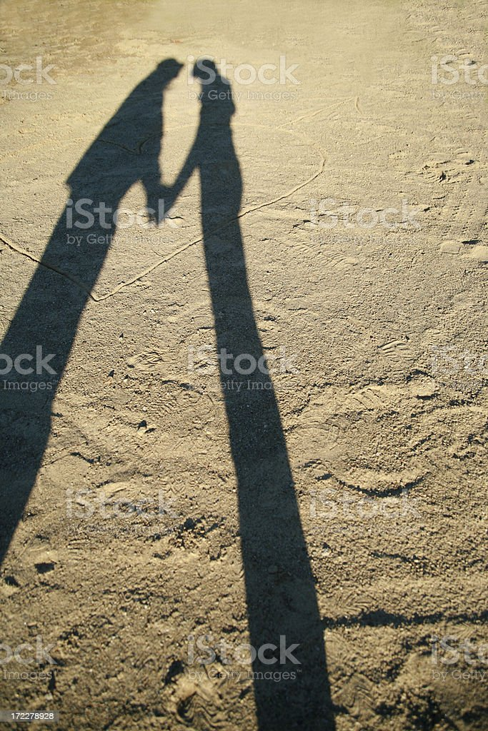 Shadow Lovers royalty-free stock photo