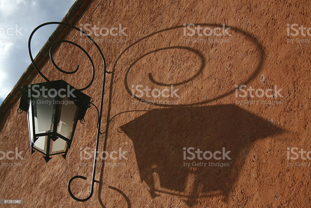 shadow of light royalty-free stock photo