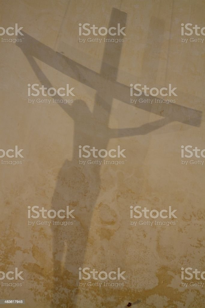 Shadow of the Cross royalty-free stock photo