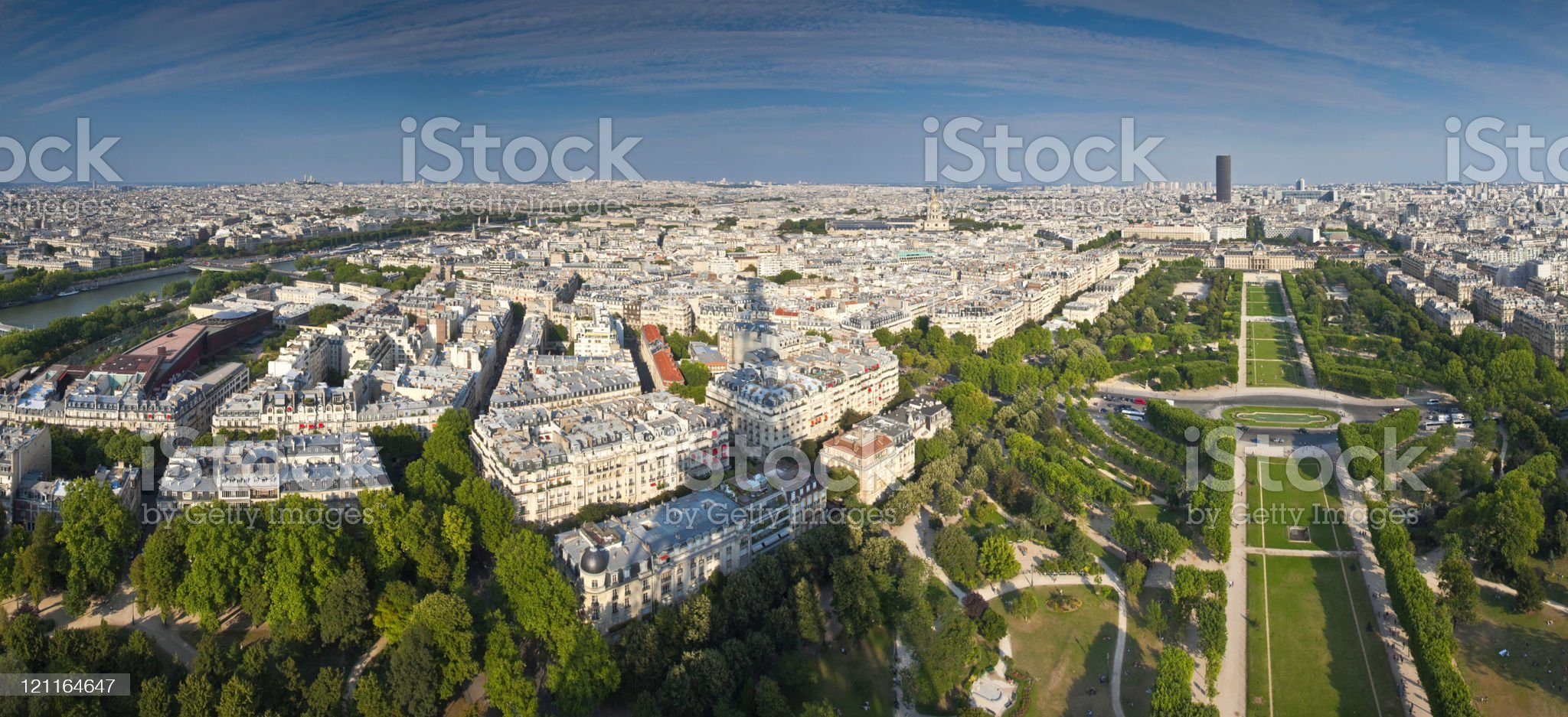 Shadow of the Eiffel Tower, Paris royalty-free stock photo