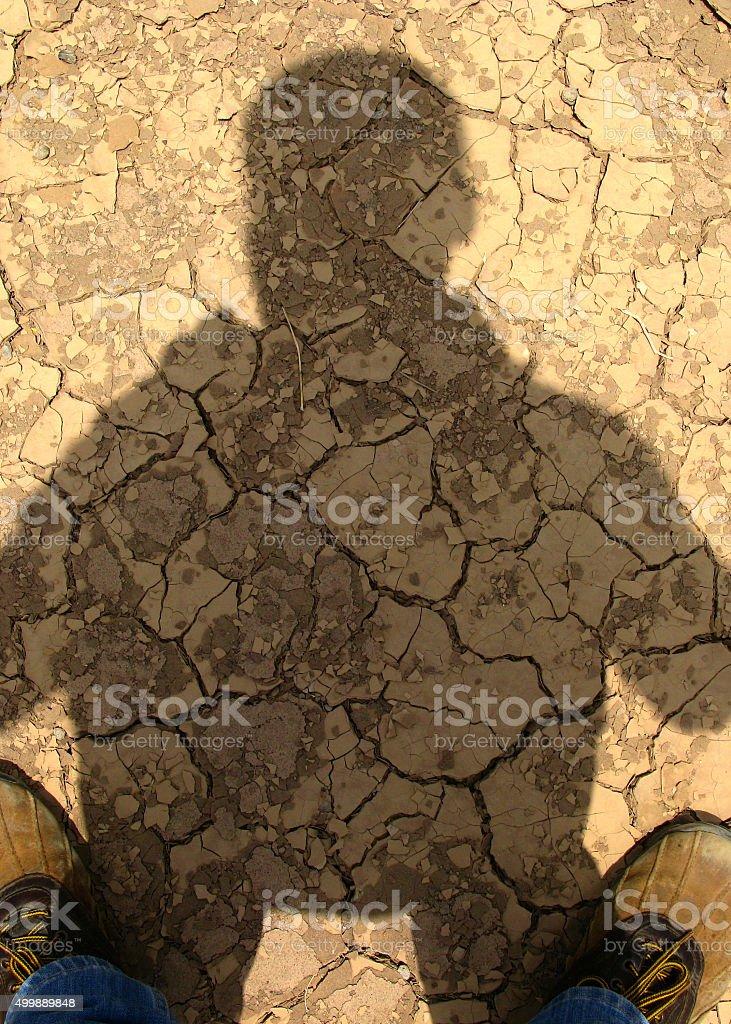 shadow ! photo libre de droits