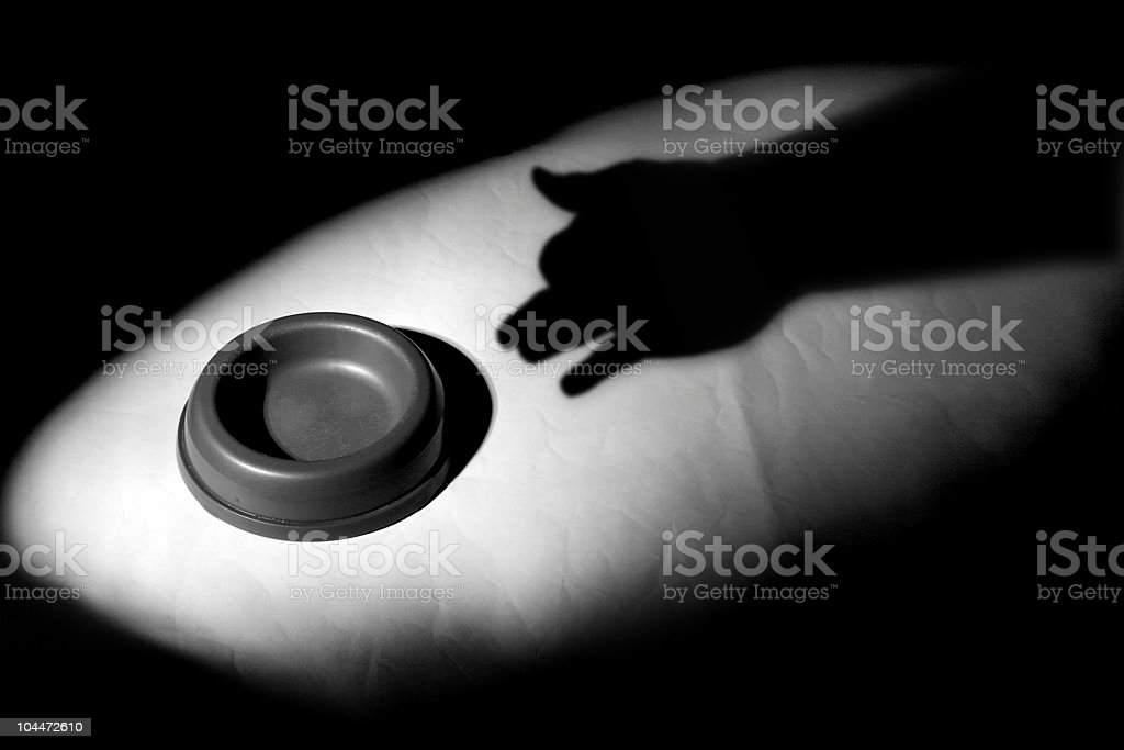 Shadow Puppet stock photo