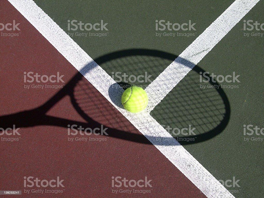 Shadow Racket II royalty-free stock photo