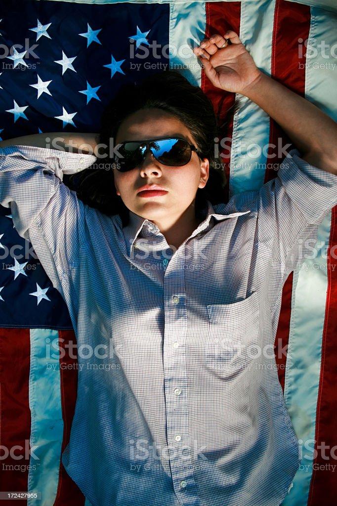 Shadow States royalty-free stock photo