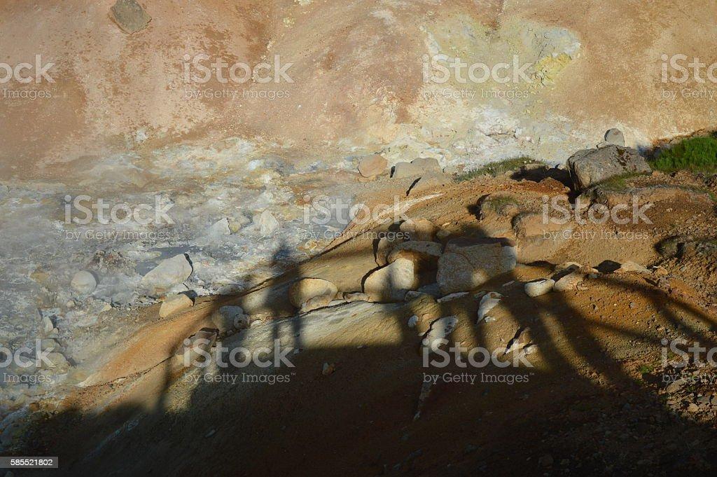 Shadowland stock photo
