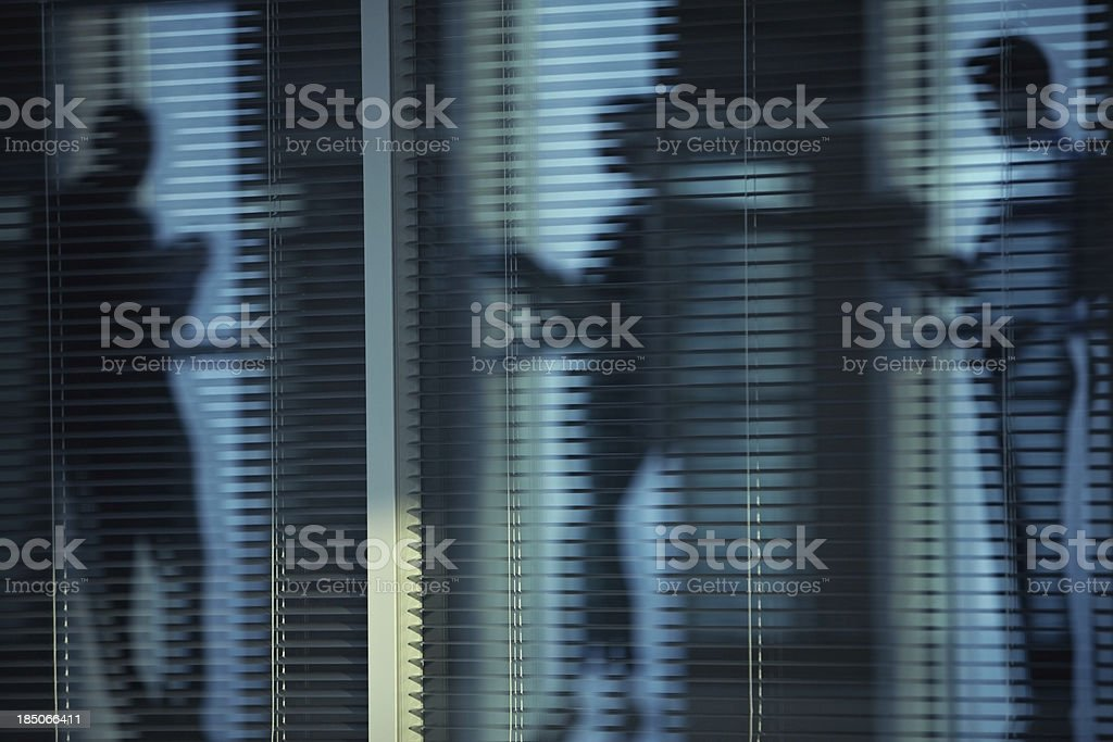 Shadows in office royalty-free stock photo