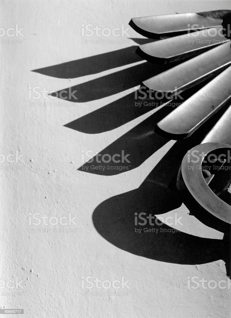 Shadows of Power royalty-free stock photo