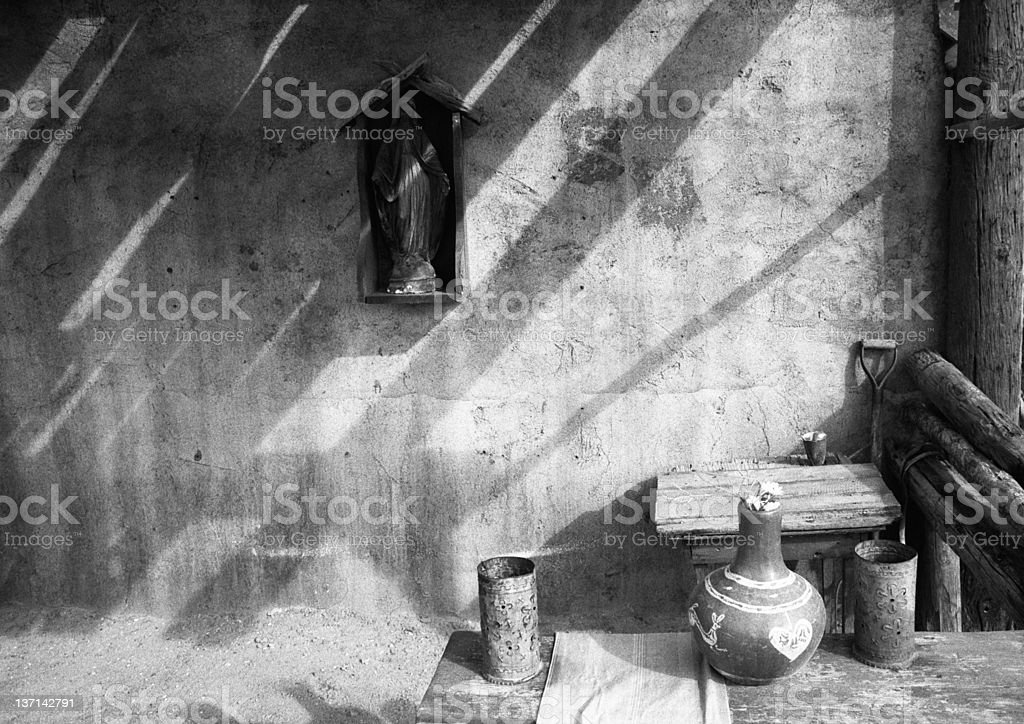 Shadows on the Wall royalty-free stock photo