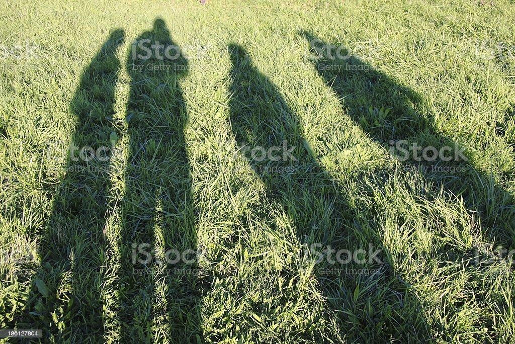 shadows royalty-free stock photo