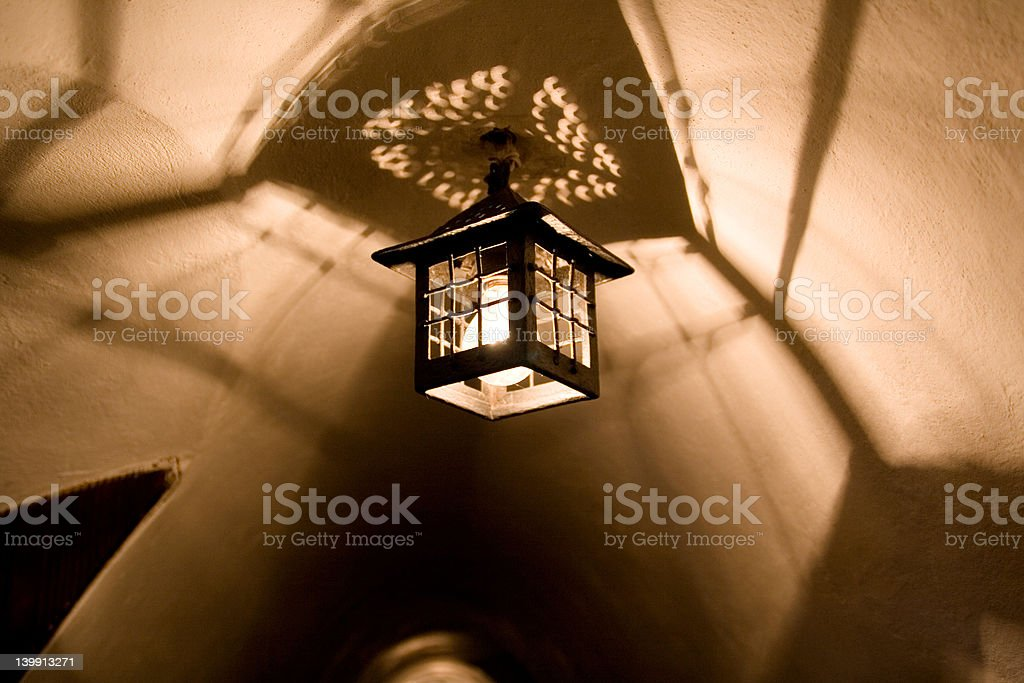 Shadowy ceiling royalty-free stock photo