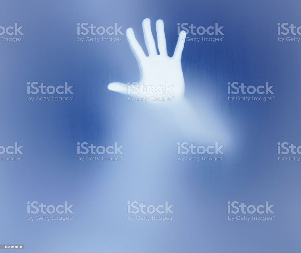 shadowy figure series royalty-free stock photo