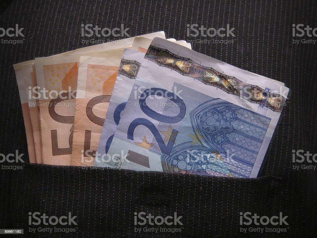 Shady money royalty-free stock photo