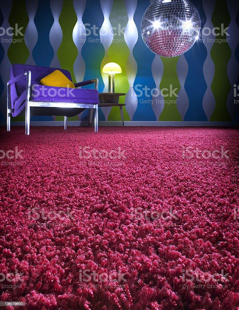 Shag carpet stock photo