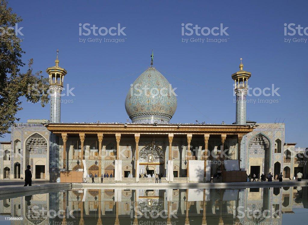 Shah Cheragh, Shiraz, Iran royalty-free stock photo