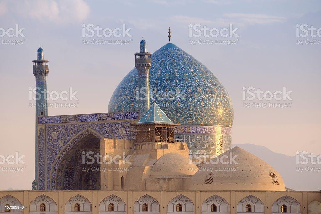 Shah Mosque, Isfahan, Iran royalty-free stock photo
