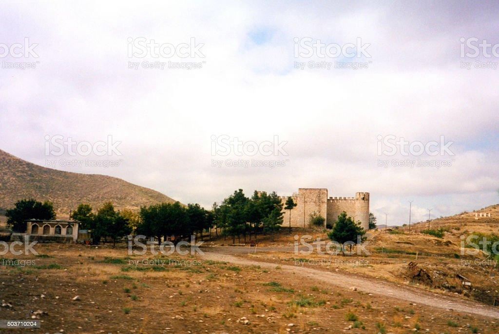 Shahbulag fortress, Azerbaijan, Nagorno-Karabakh stock photo