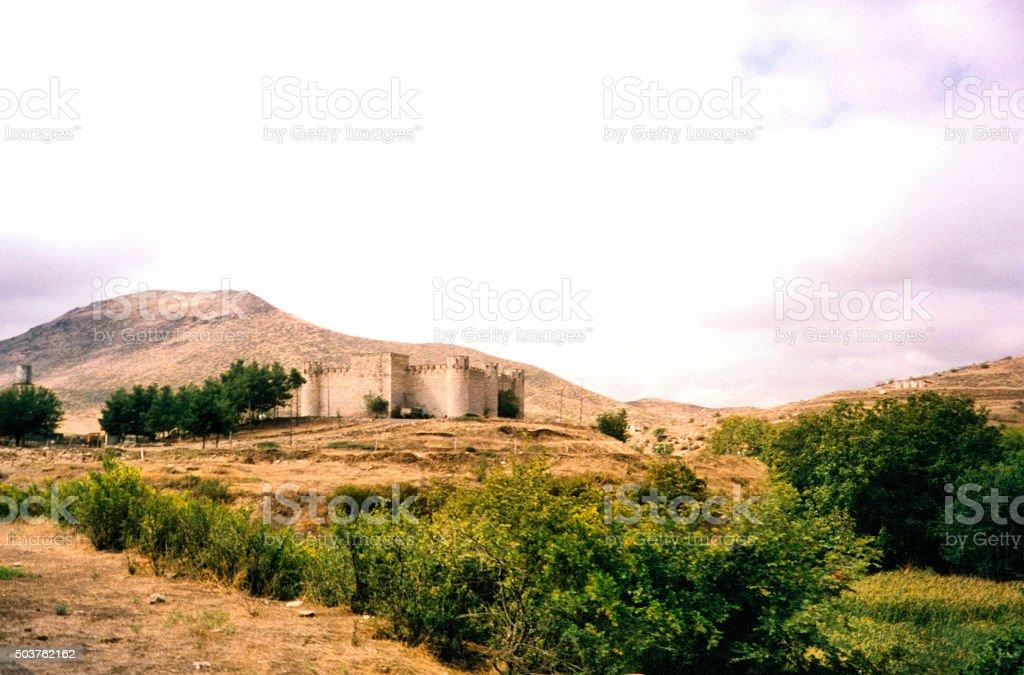 Shahbulag fortress, Azerbaijan (Nagorno-Karabakh) stock photo