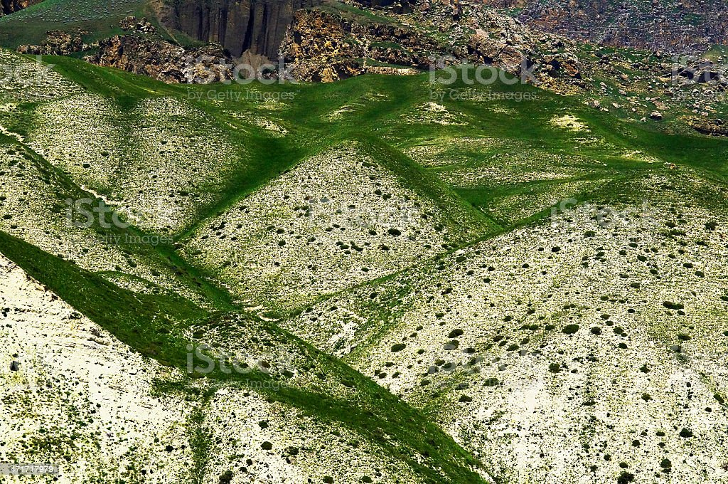 Shahdag mountains royalty-free stock photo