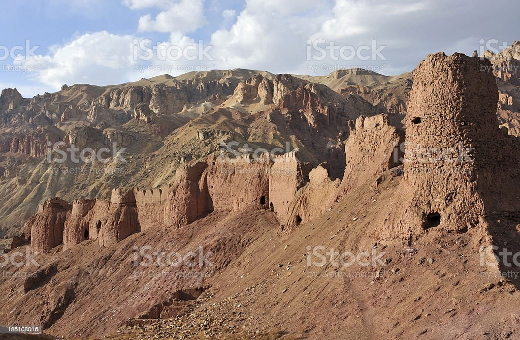 Shahr-e Nau Old fort, Afghanistan stock photo