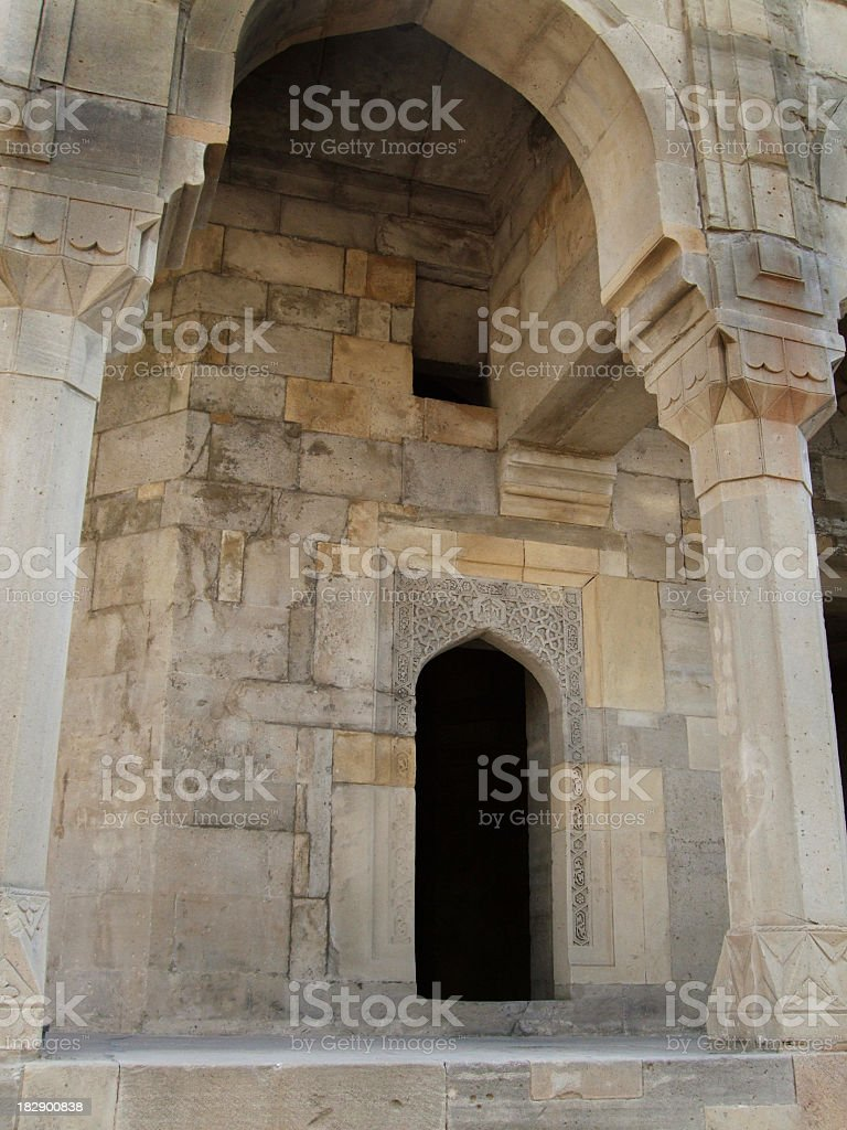 Shah's Palace, Baku, Azerbaijan stock photo