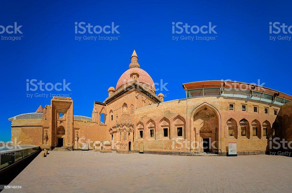 İshak pasha Palace stock photo