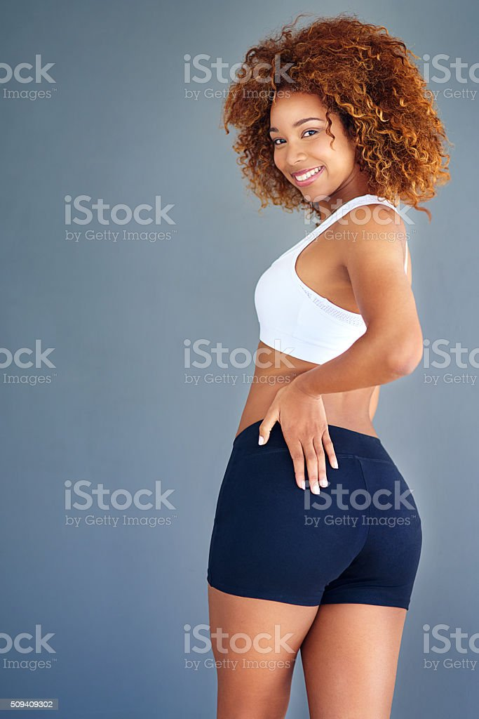 Shake your asana stock photo